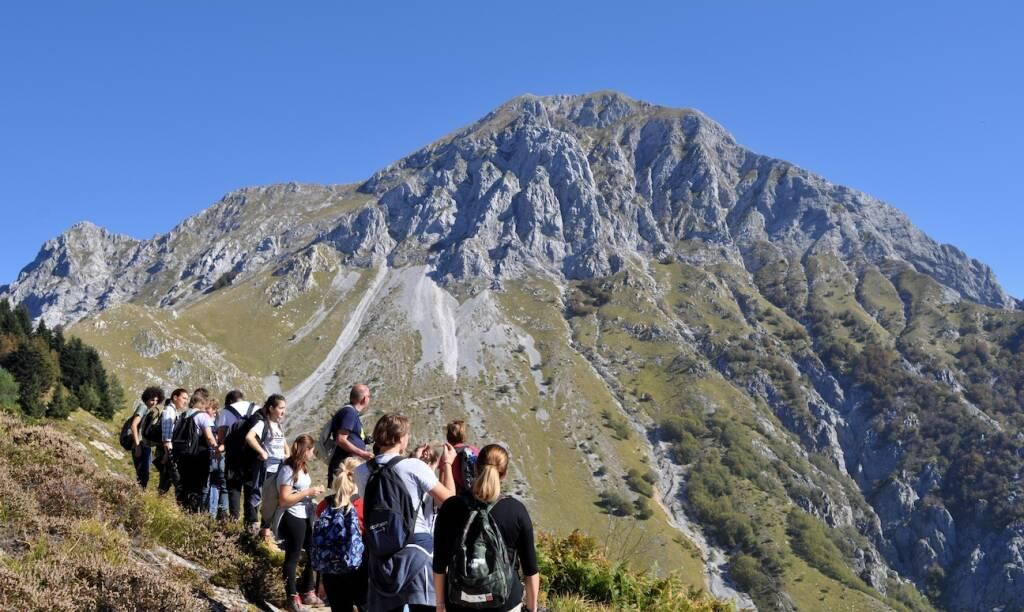 alpi apuane escursioni escursionisti