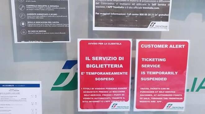 biglietteria stazione aulla