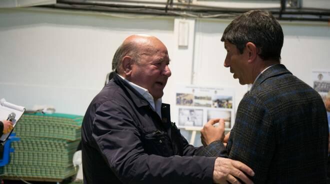 Fausto Manfredi con Roberto Murgita