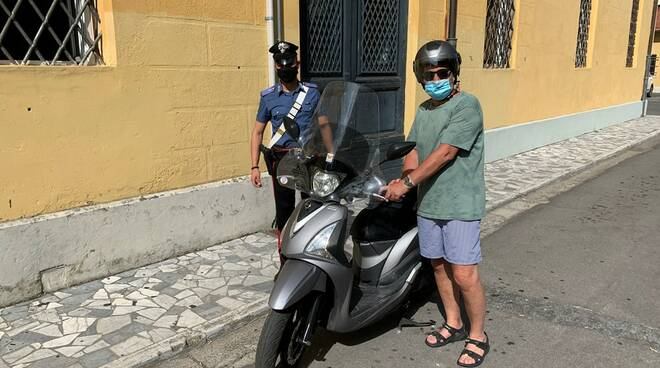 scooter carabinieri