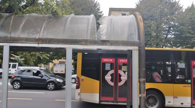 Pensiline autobus carrara
