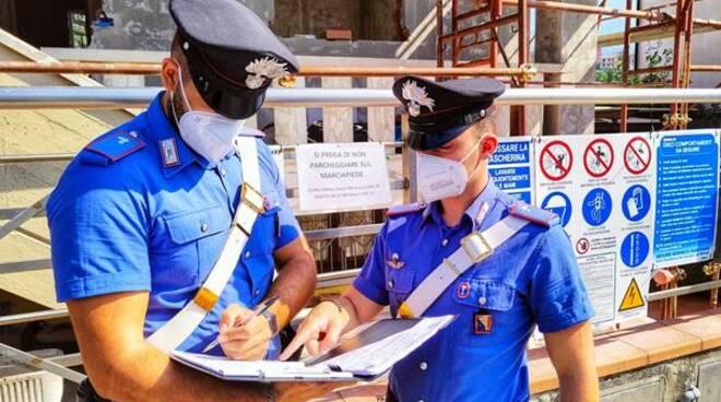 Carabinieri cantieri