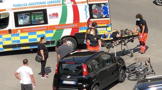 incidente ciclista