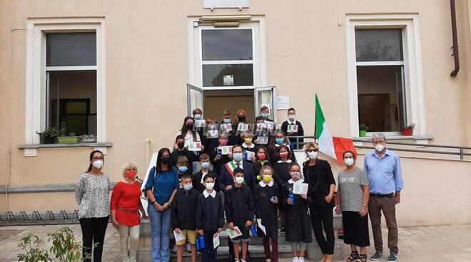 Persiani visita la scuola di via Casamicciola