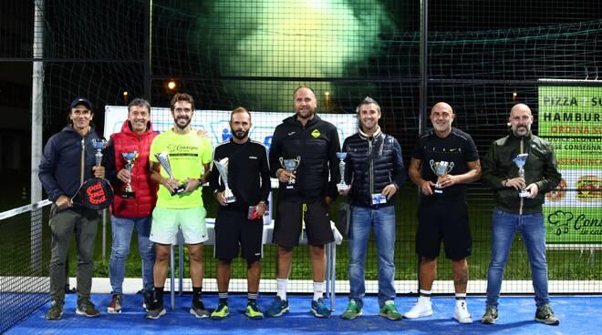 Premiazione Winner Sport Padel Cup