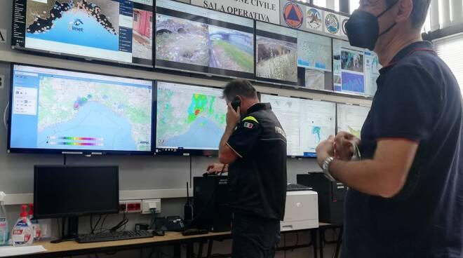 sala coc protezione civile carrara